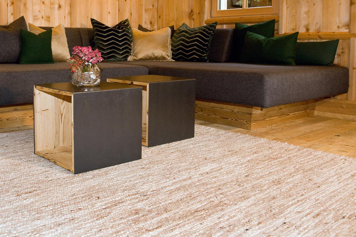 Wohnraum mit Gerlos Teppich