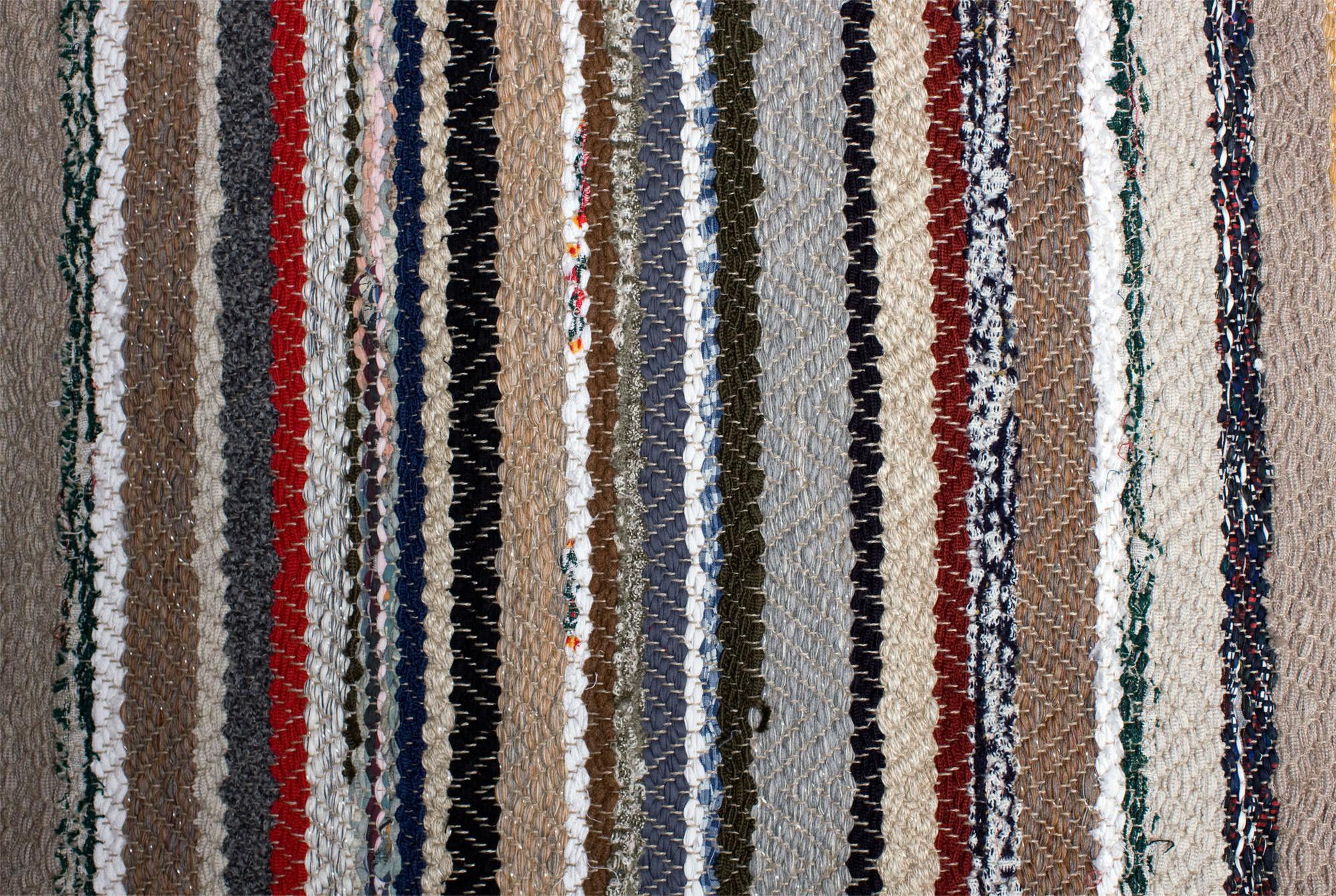 Fleckerlteppich Detail