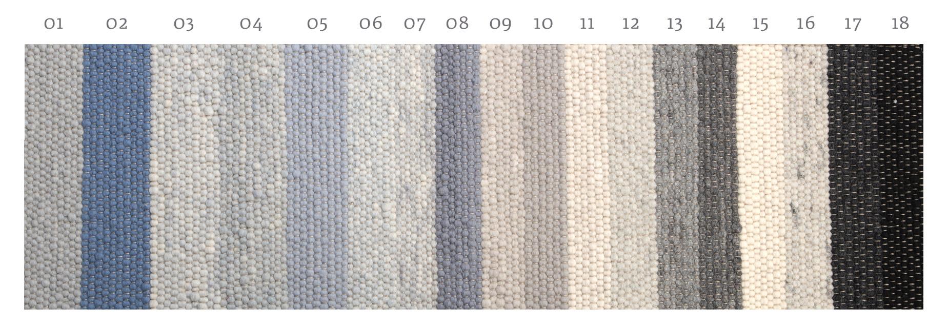 Farbpalette Grau